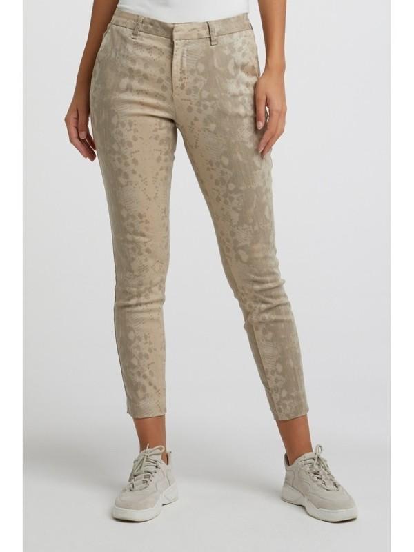 121152-013 992021 - Trousers print (Dark sand dessin)