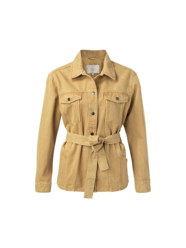 151125-013 99206 - Denim jacket  (Dusty oker)