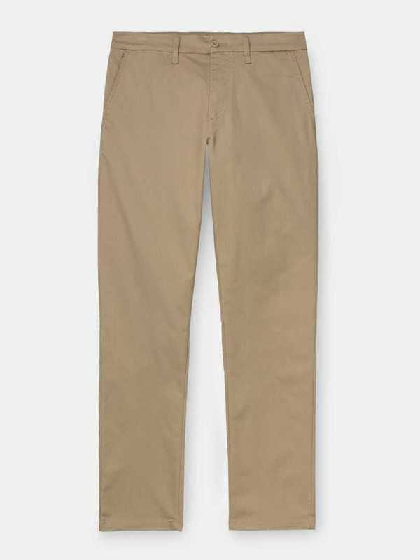 I017985_8Y_02 - Johnson Pant (Leather rinsed)