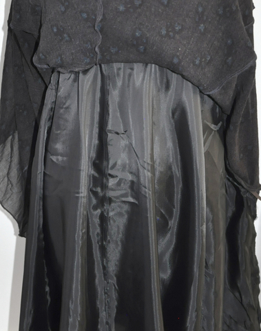A431015 89 - Robe  à bretelles  (Lie de vin)