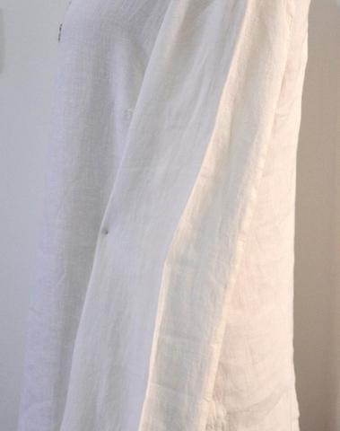 120%lino - 01390/115 - Blouse (Blanc)