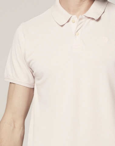 202500 429 - Bowie Basic Polo s/s Polo Pique (Lt. Pink)