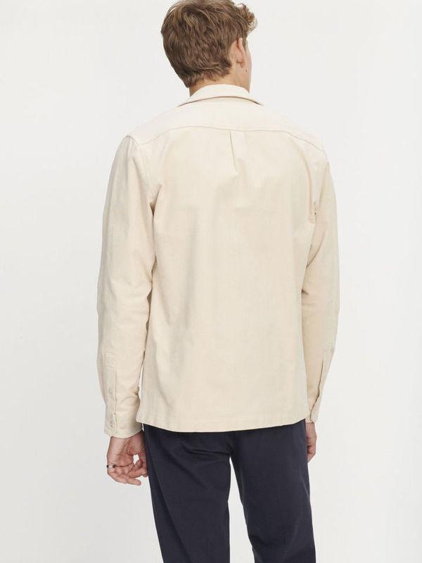 M20200090 10456 - Verner AC shirt (Pumice Stone)