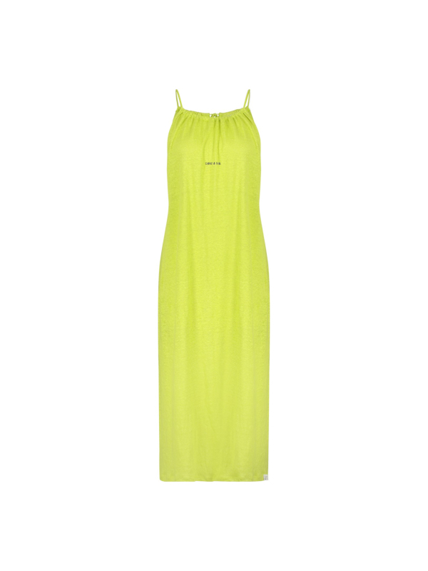 S20T381 408/840 - dress print (green banana/asphalt)