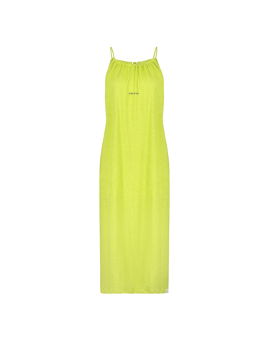 S20T381 408/840 - dress print (green banana/asphalt)