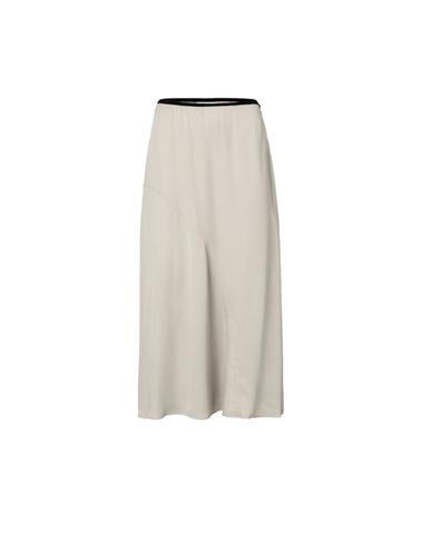 140183-015 51305 - Satin skirt (Sand)