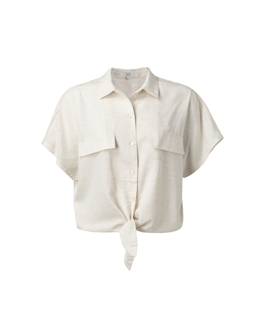 1101174-015 30002 - Knotted shirt (White sand)