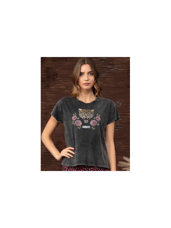 H2007TSTI GR - Tshirt (Gris)