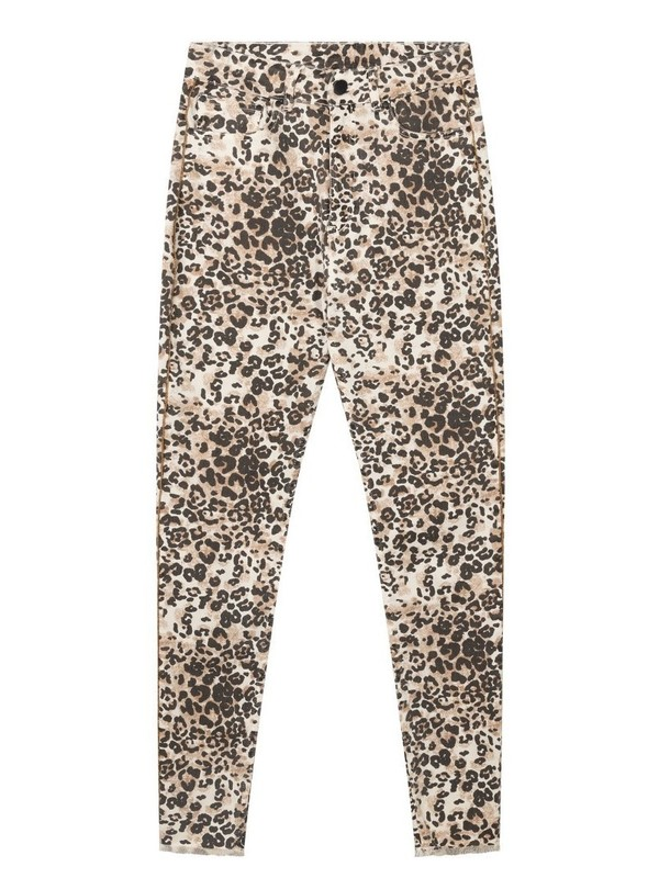 20-063-0203 1043 - Skinny denim leopard (Winter White)