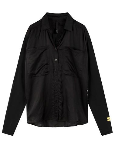 20-408-0203 1012 - Shirt silk (Black)