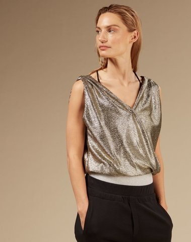 20-472-0203 1013 - Wrap top (Gold)