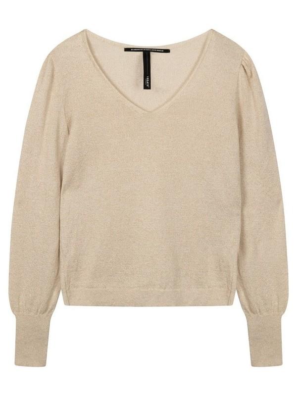 20-604-0203 1013 - Sweater lurex (Gold)
