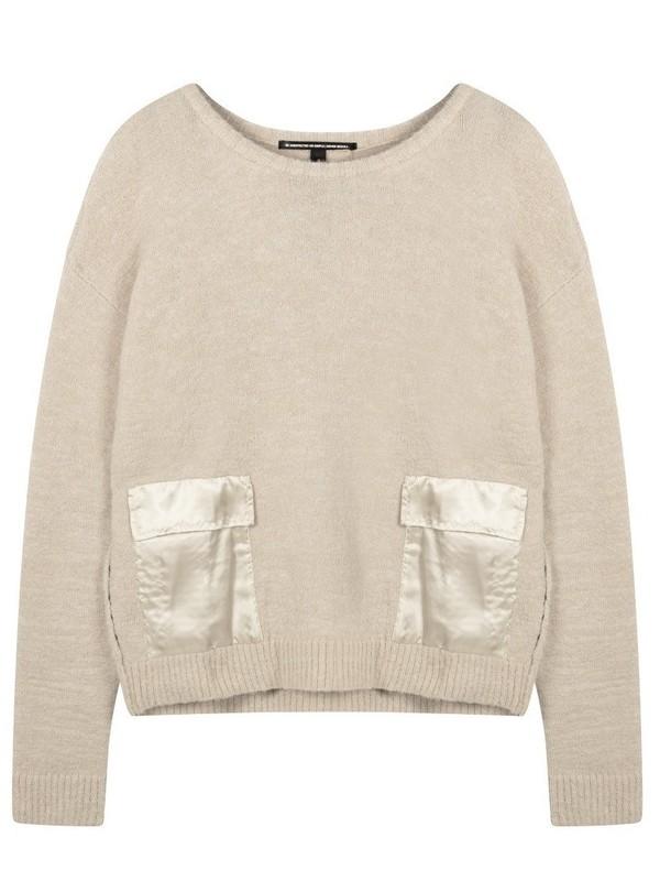 20-617-0203 1078 - Sweater pockets (Light Safari)