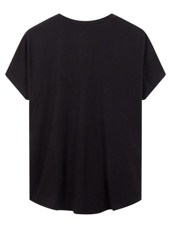 20-741-0203 1012 - Shortsleeves tee (Black)