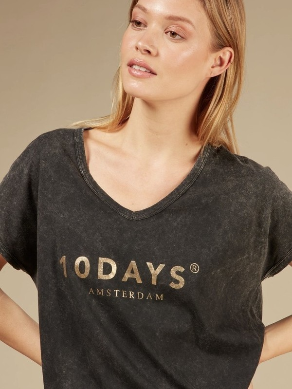 20-753-0203 1006 - Fade out tee (Grey)