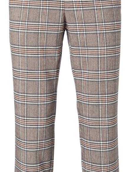 121165-022 812221 - Pantalon (Cacao brown dessin)