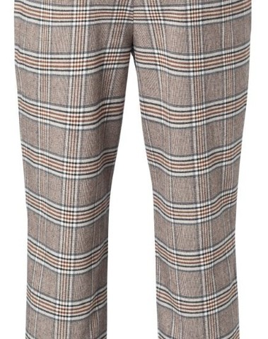 121165-022 812221 - Pantalon (Cacao brown dessin)