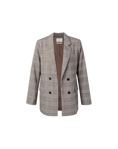 150161-022 812221 - Blazer (Cacao brown dessin)