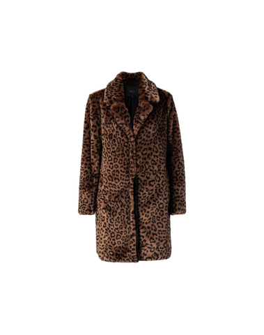 161142-023 812221 - Manteau (Cacao brown dessin)
