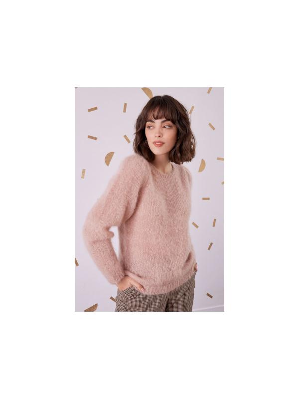 1H200024 02671 - Pull COLINETTE (beige rose)