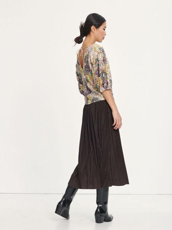 F20400262 00161 - Henry blouse (Multi glitter)