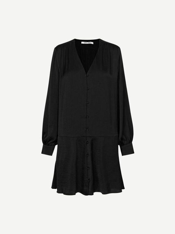 F20400220 00001 - Jetta short dress ( Black )