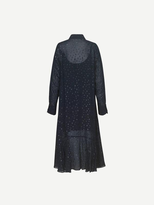 F20400186 10489 - Ghadam shirt dress ( Sky captain )