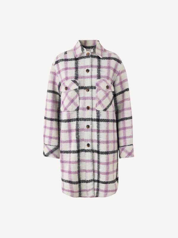 F20400089 00175 - Galatea overshirt ( Purple jasper ch. )
