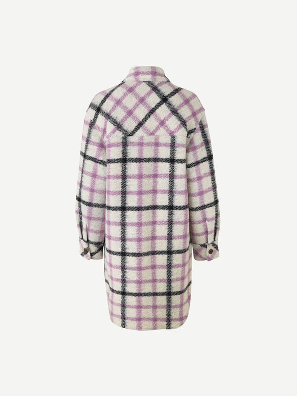 F20400089 00175 - Galatea overshirt ( Purple jasper ch. )