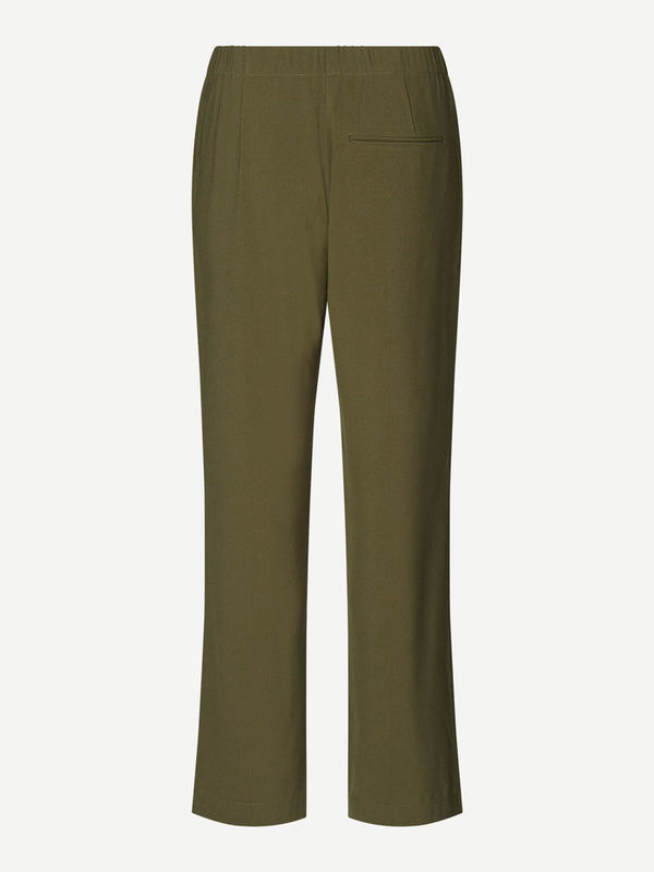 F20200207 10116 - Hoys straight pants ( Dark olive )