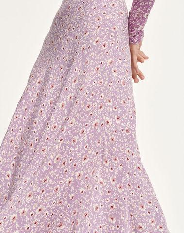 F20200256 00177 - Alsop skirt aop ( Wisteria purple )