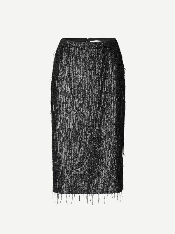 F20400193 00001 - Alpina skirt ( Black )