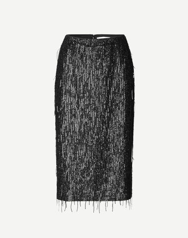 F20400193 00001 - Alpina skirt ( Black )