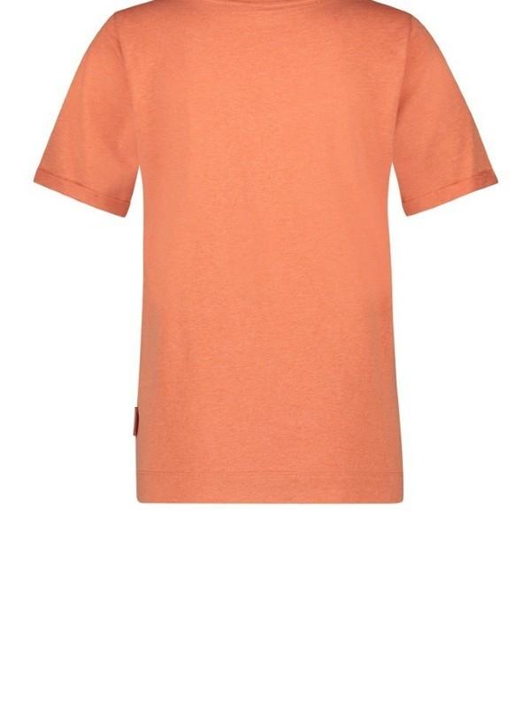W20F819 307/90 - Tshirt   ( Coralblack)