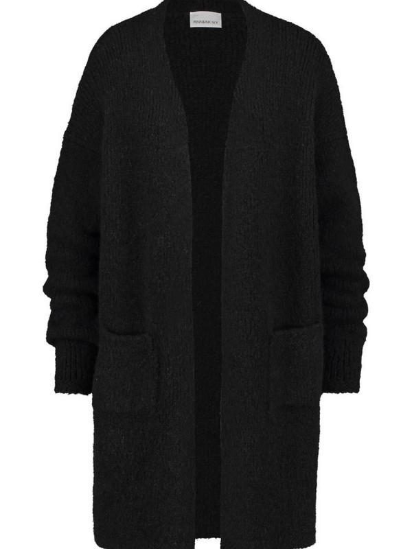 W20L125 90 - Cardigan (Black)