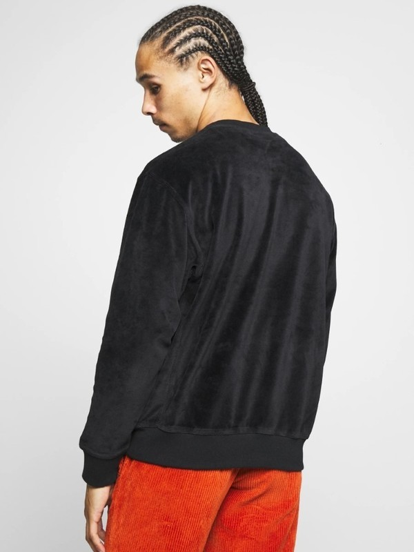 I027678 0E0 - Script Embroidery Sweat (Black)