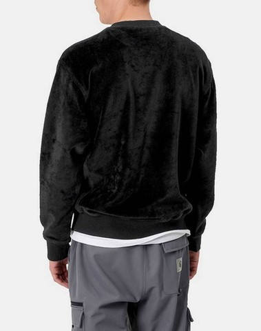 I028275 8900 - Script Embroidery Sweat (Black)