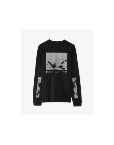 I028742 8990 - L/S Reflective T-S (Black/Grey)
