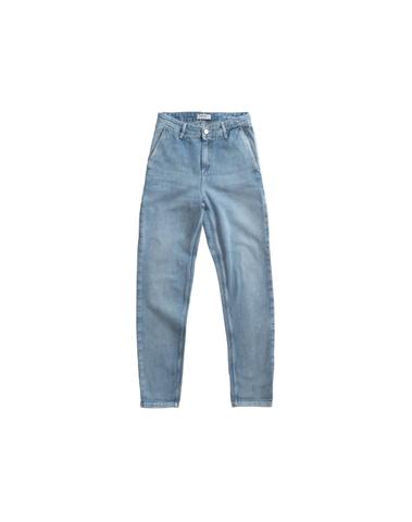 I025268 0147 - W'Pierce Pant (Blue light stone washed)