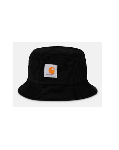 I028162 8900 - Cord Bucket Hat (Black)