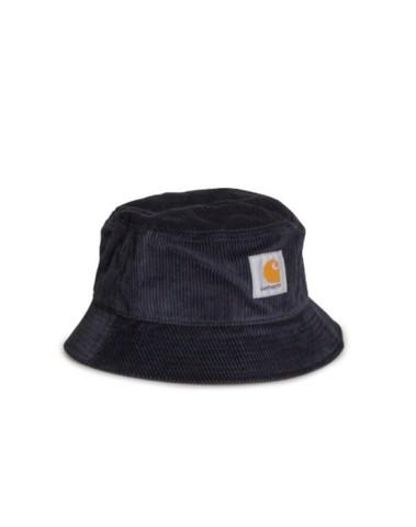 I028162 1C00 - Cord Bucket Hat (Dk. navy))