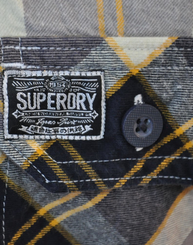 SUPERDRY - GS4BE45 BHB - Chemise (Big Horn Blue)