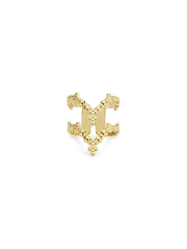 BA-196.G - Bague DOUBLE V (Gold)