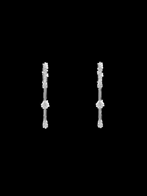 BO-103.S - Boucles d'oreilles QUEENS (Silver)
