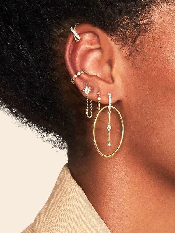 BO-103.G - Boucles d'oreilles QUEENS (Gold)