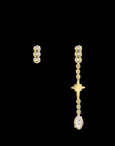BO-105.G - Boucles d'oreilles BROOKLYN (Gold)