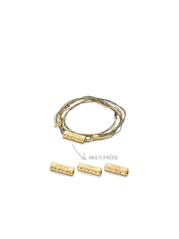 BR-135.G - Bracelet ANTILLES (Gold)