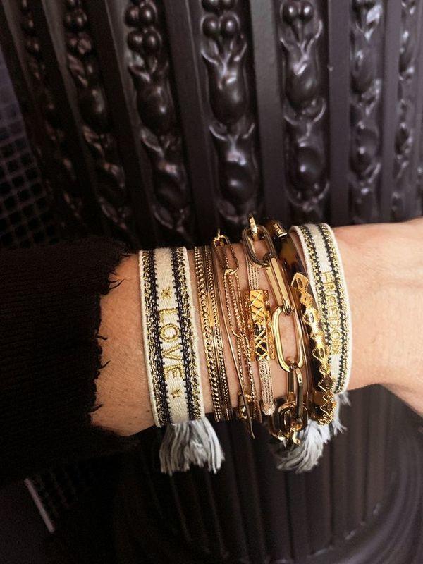 BR-140.G - Bracelet FREEDOM (Gold)