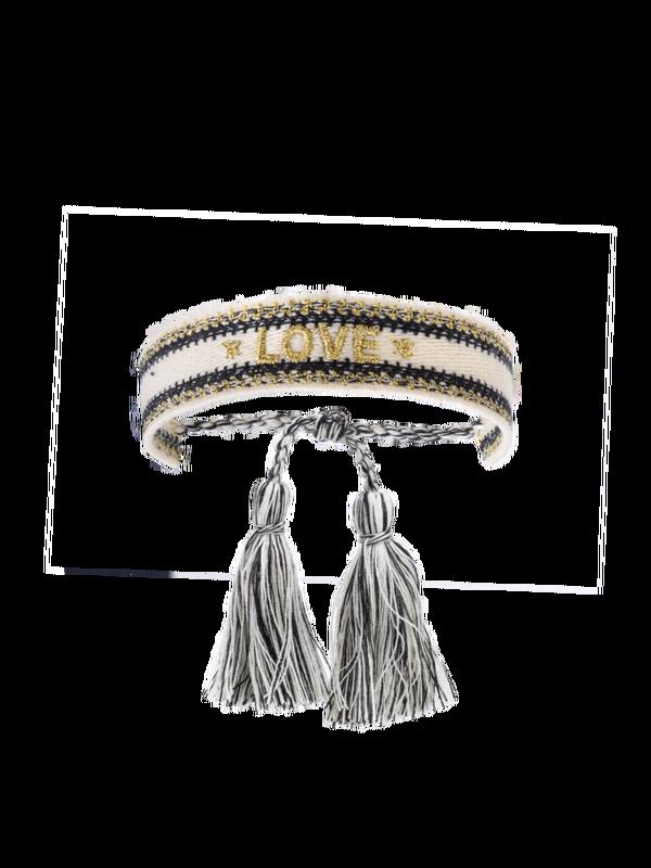 BR-145.G - Bracelet LOVE (Gold)