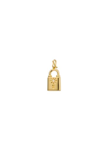 PED-51.G - Breloque CADENAS (Gold)